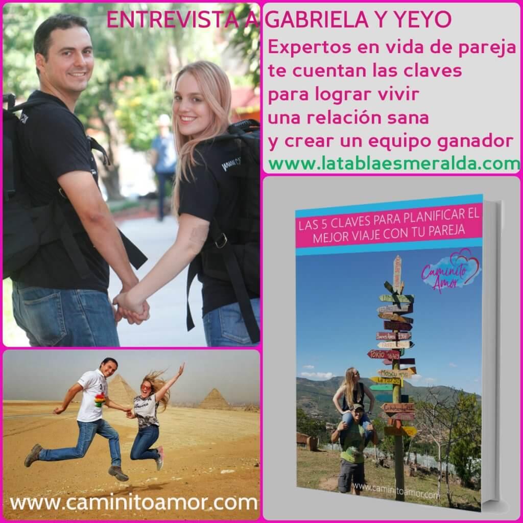 Pareja Gabriela y Yeyo